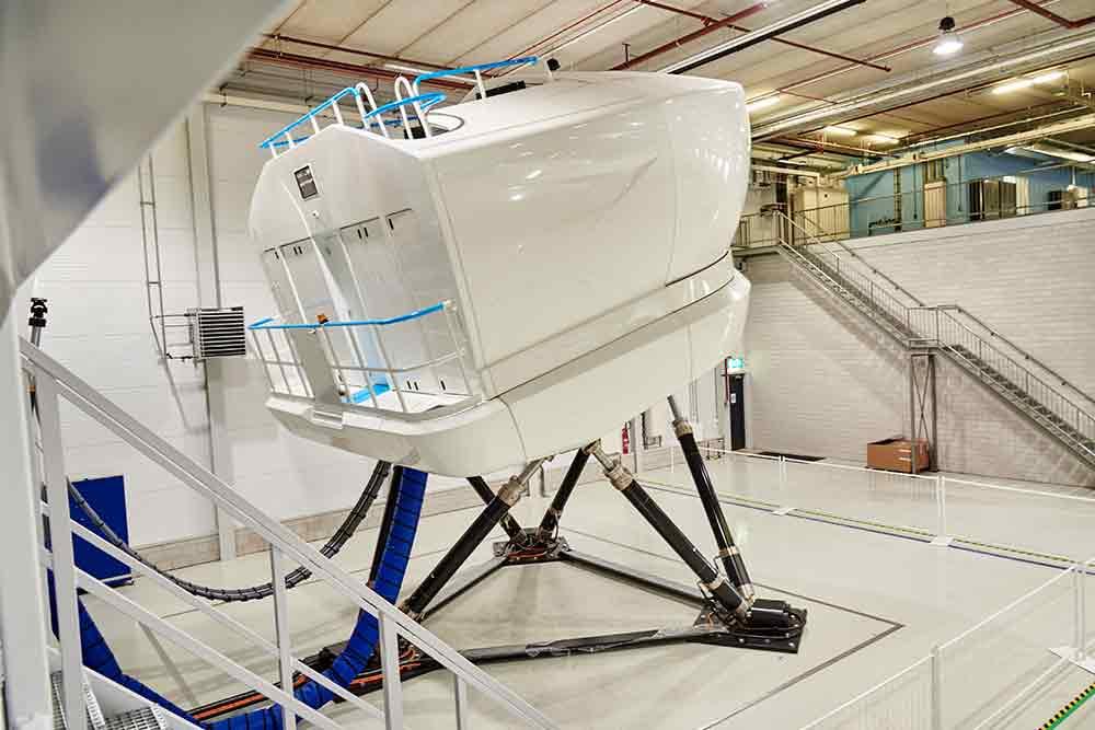 Simulateur de vol full flight Paris